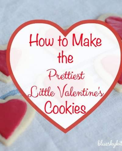 How to Make the Prettiest Little Valentine's Cookies