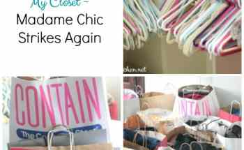 How to Declutter Your Closet ~ Madame Chic Strikes Again
