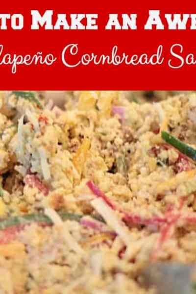 How to Make an Awesome Jalapeño Cornbread Salad