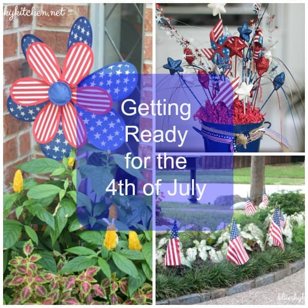 Getting Ready for the 4th of July