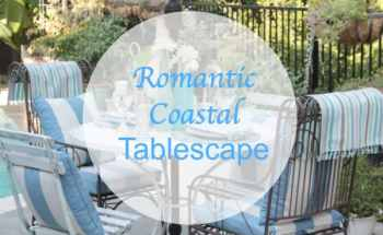 Romantic Coastal Alfresco Tablescape