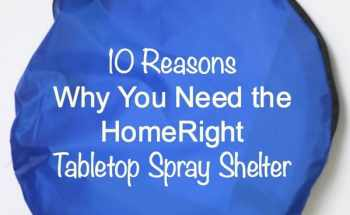 10 Reasons Why You Need a HomeRight Spray Shelter