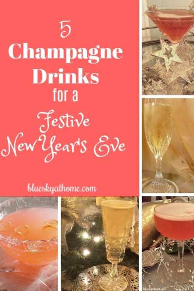 5 Champagne Drinks for New Year's Eve