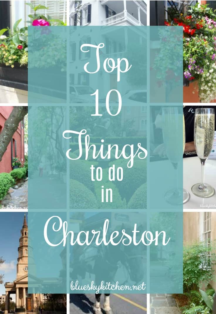 Top 10 Things To Do in Charleston; from shopping to sightseeing, Charleston is a city of beautiful homes, gardens and churches to be savored at a slow pace.