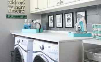 How to Make a Laundry Room Prettier and More Practical