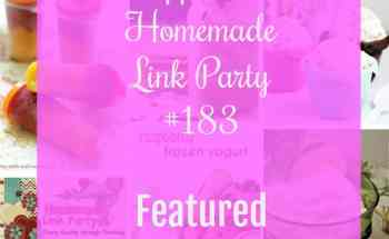 Happiness is Homemade Link Party 183
