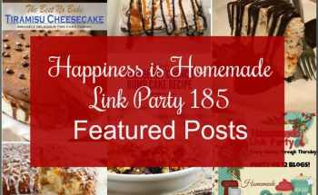 Happiness is Homemade Link Party 185