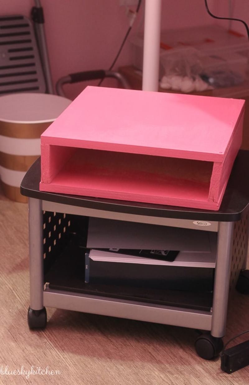How To Build A Storage Box For Your Printer Paper For
