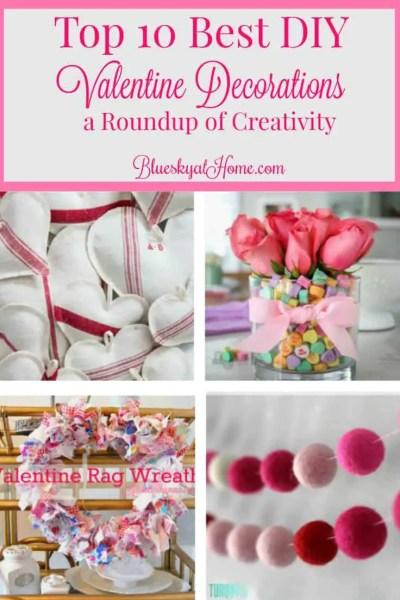 Top 10 Best DIY Valentine Decorations