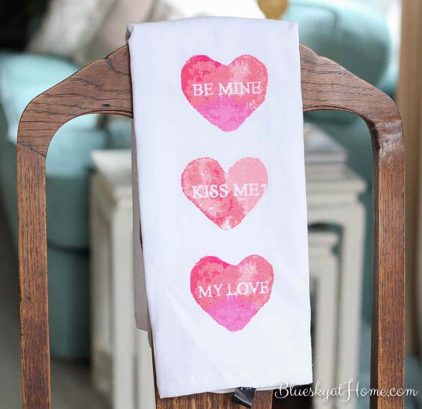 Valentine\'s Tablescape ~ a Romantic Brunch for 2 ~ Bluesky at Home