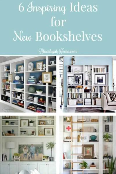 6 Inspiring Ideas for New Bookshelves