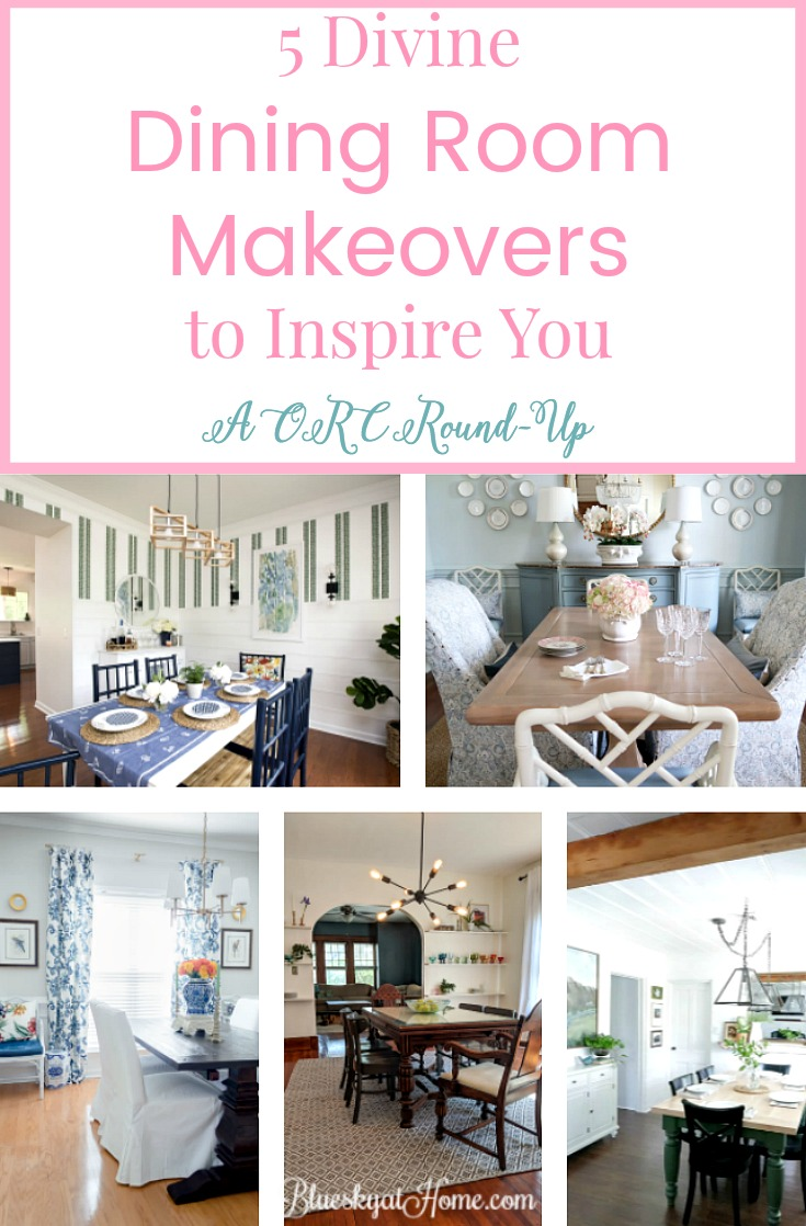 5 Divine Dining Room Makeovers ~ An ORC Round~Up. Dining Rooms Show Classic