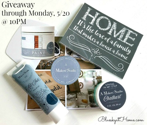 A Makers' Studio Giveaway Graphic