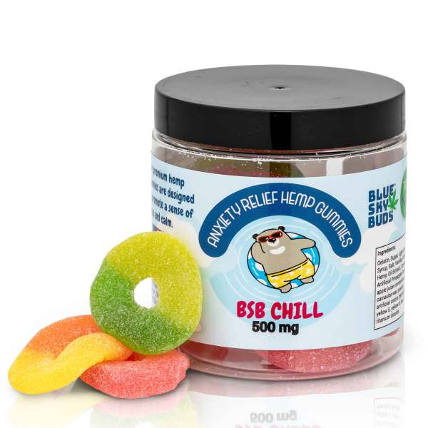 CBD/Hemp Extract Gummies BSB CHILL 20 pieces