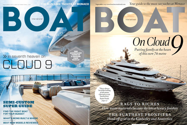 Blue Sky Luxury's Greensleeves & Boat International