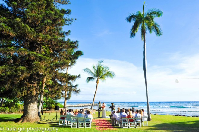 Olowalu Maui wedding by Blue Sky Weddings