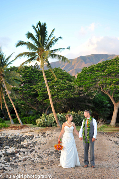 Married at Olowalu