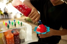Olowalu Plantation House wedding wiht Shave ice
