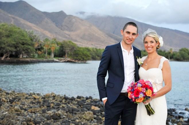 West Maui Mountain backdrop