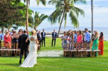 Olowalu Plantation House wedding ceremony