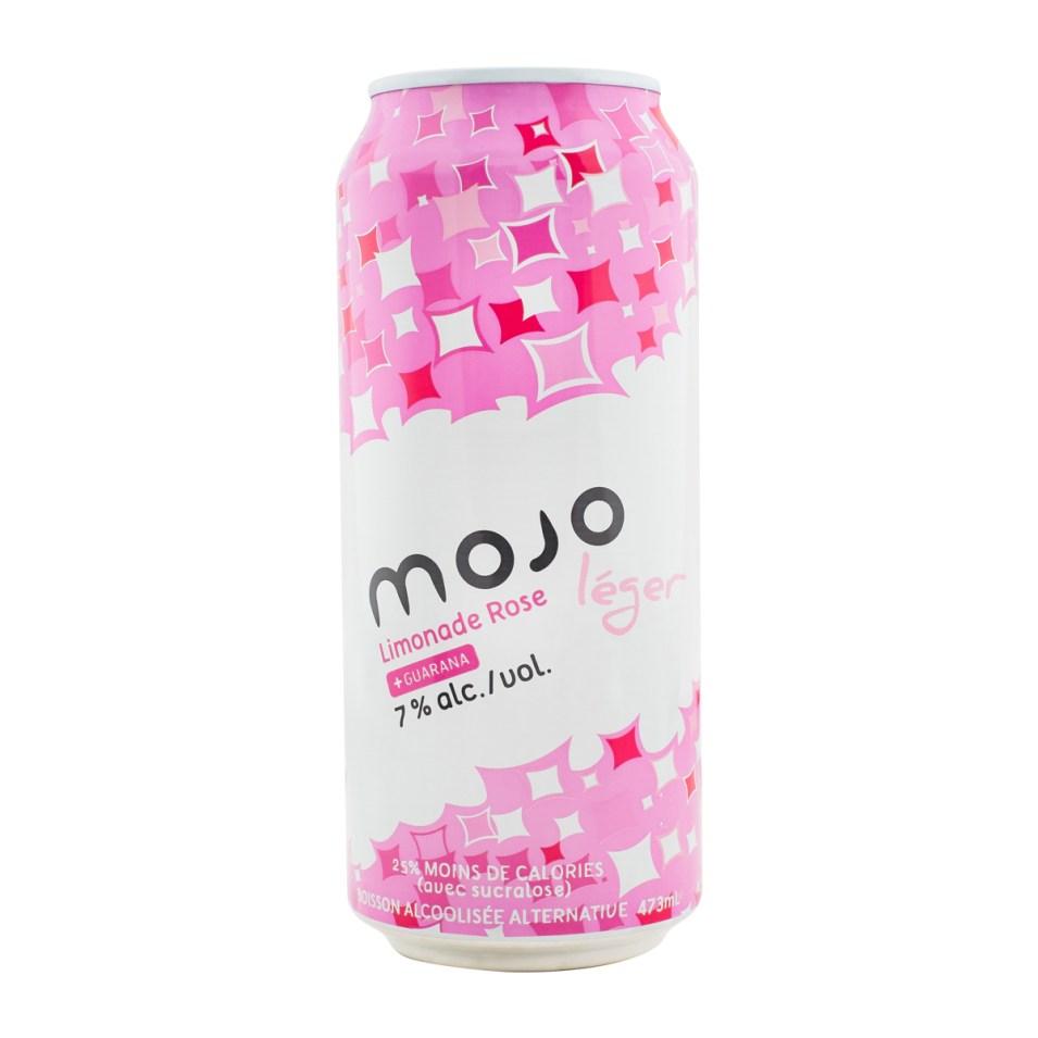 MOJO - Limonade rose (léger) - canette