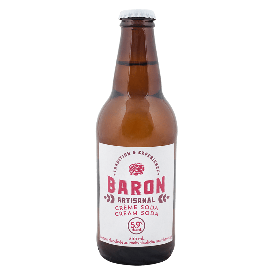 Baron Cream Soda Image