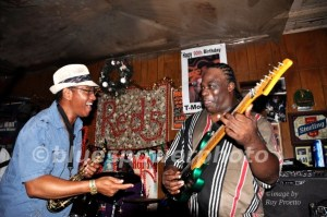 Terry Big T Williams and Alphonso Sanders