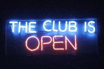 club open