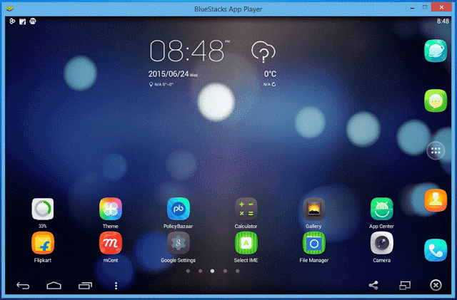 BlueStacks For MacBook OS X Yosemite/EI Captain