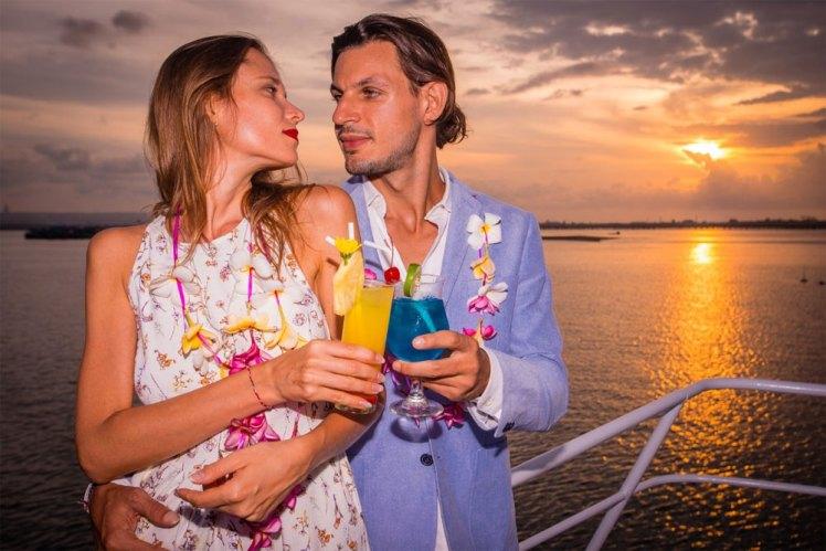 sunset dinner cruise bali