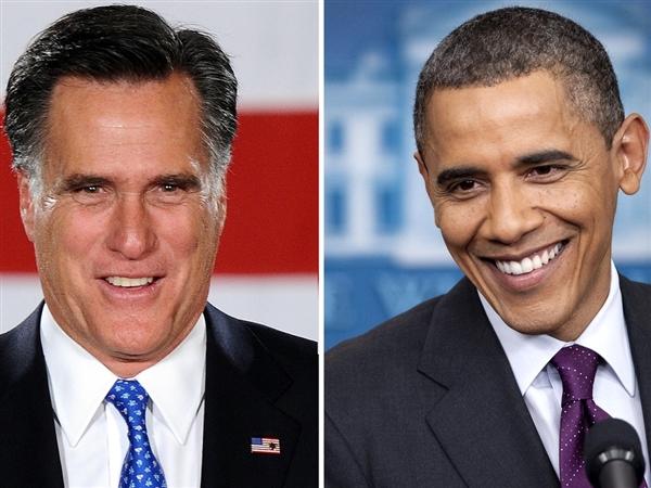 Obama & Romney