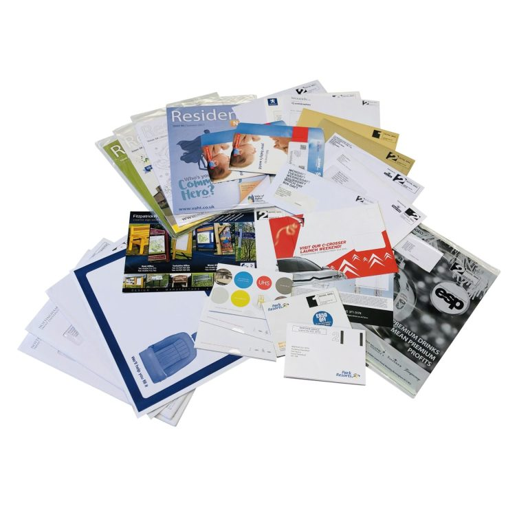 Printed Direct Mail Pieces