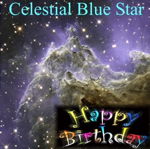 Happy Birthday Celestial
