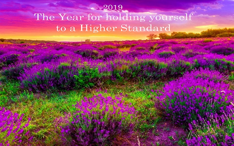 """2019 – The Year for holding yourselves to a Higher Standard And """"Escapism"""""""