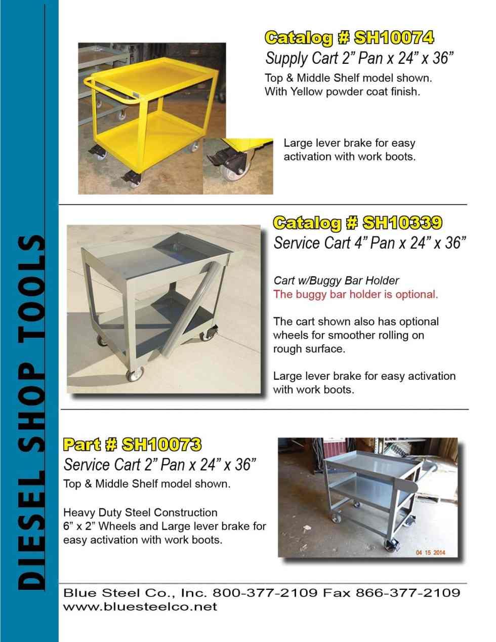 Service Carts and Supply Carts