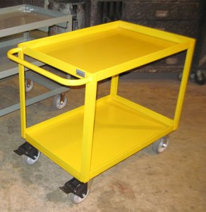 Heavy Duty Steel Supply Cart