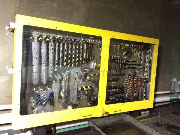 Peg Board Cabinet
