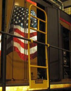Locomotive Safety handrail