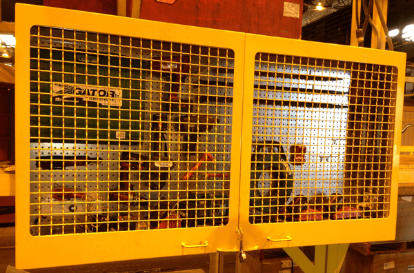72 inch Heavy Duty Tool Cabinet with Wire Mesh Doors