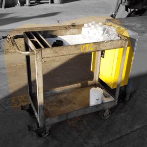 Steel Machinist Cart