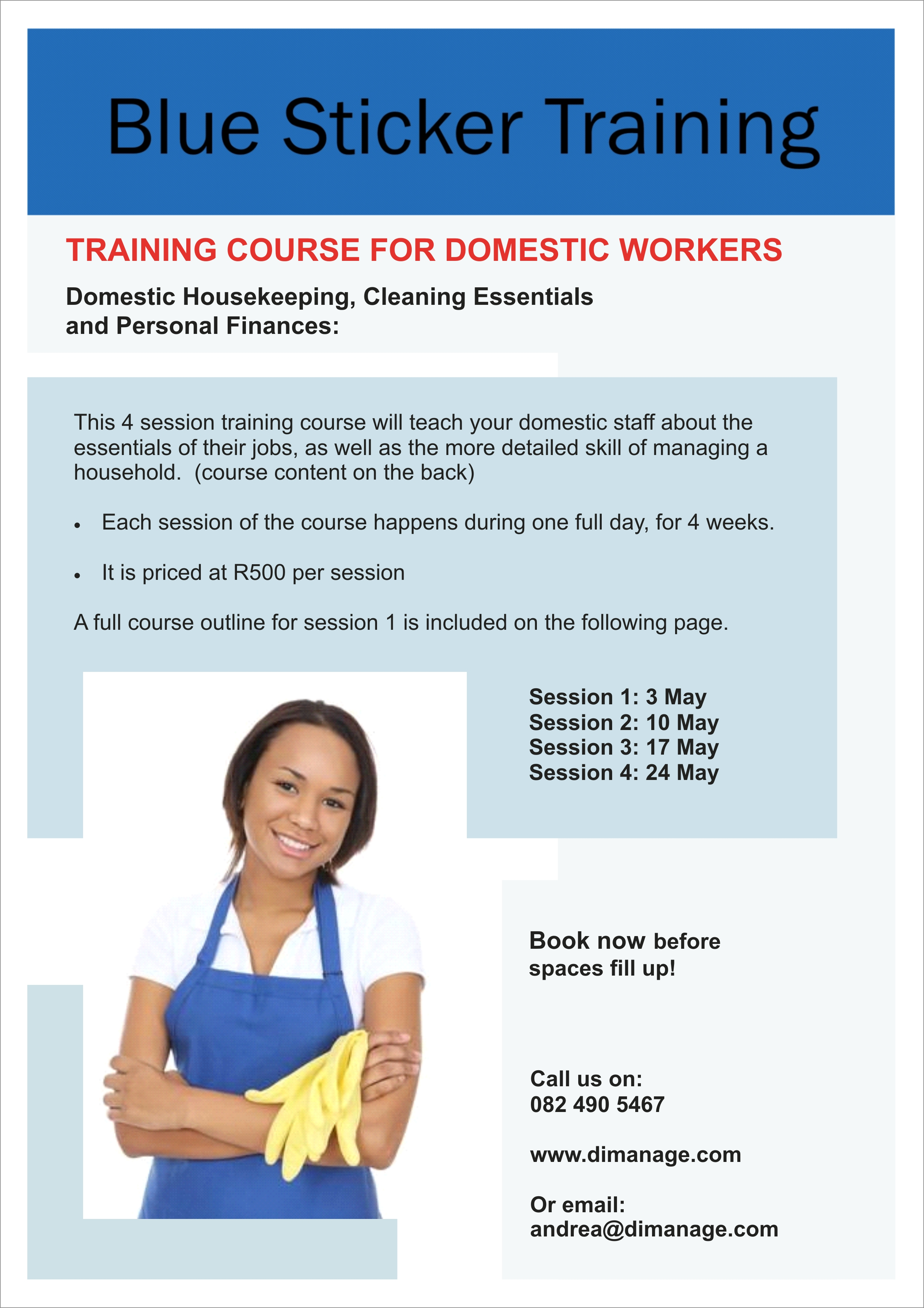 Domestic Worker Termination Letter Example South Africa