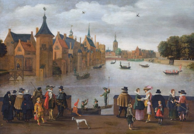 Joust on the Hofvijver, 1625