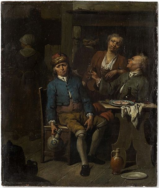 jan_baptist_lambrechts_attr-_-_at_the_tavern