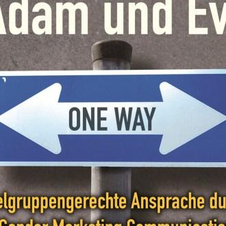 Werbung für Adam und Eva - Diana Jaffé