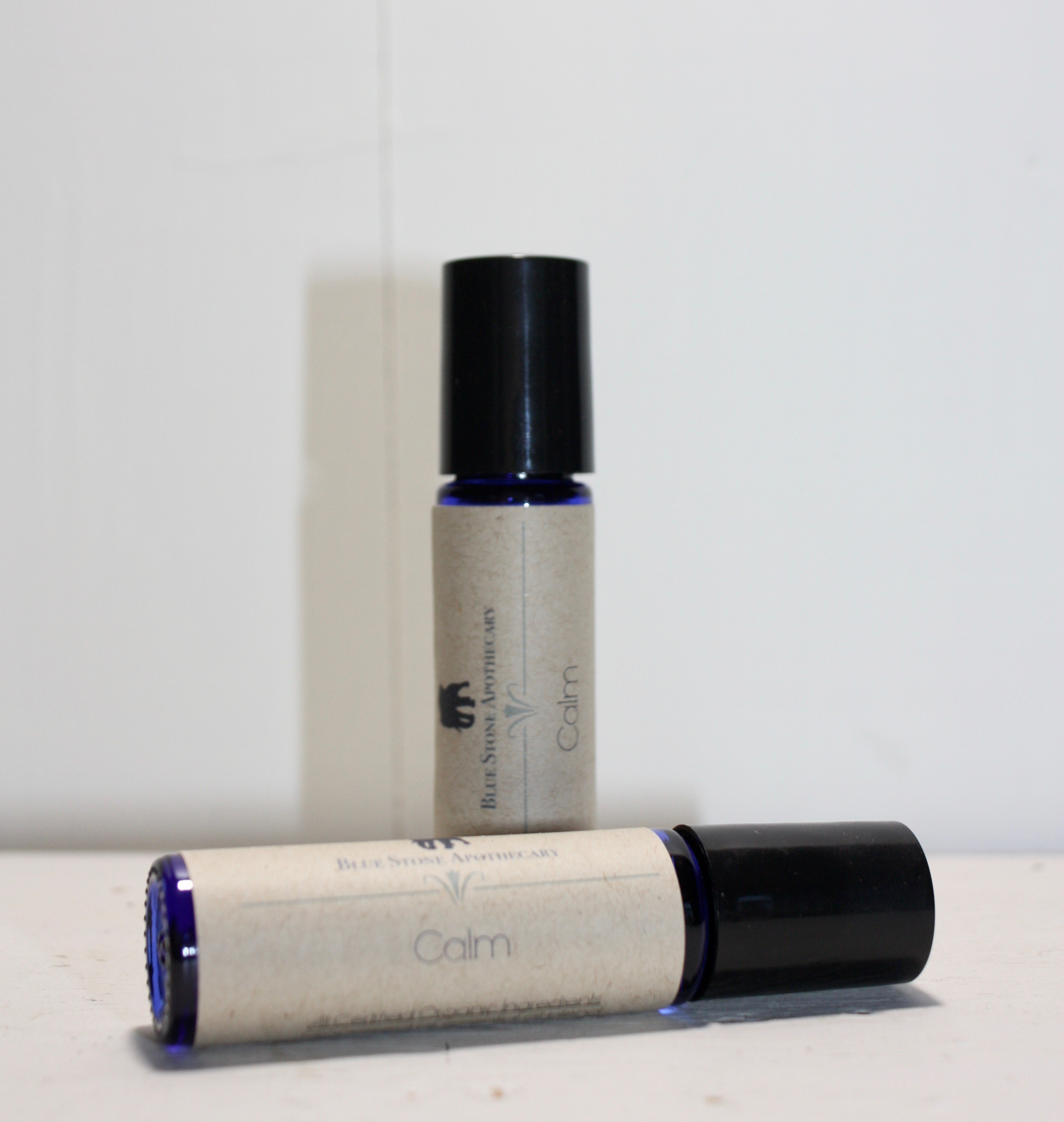 Organic Calm Essential Oil Roll On Blend Blue Stone Apothecary