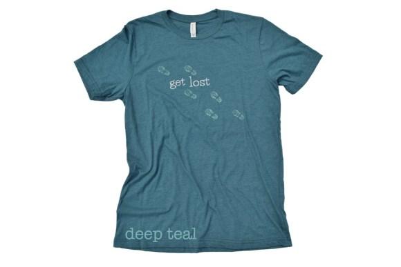 Get Lost bootprint t-shirt