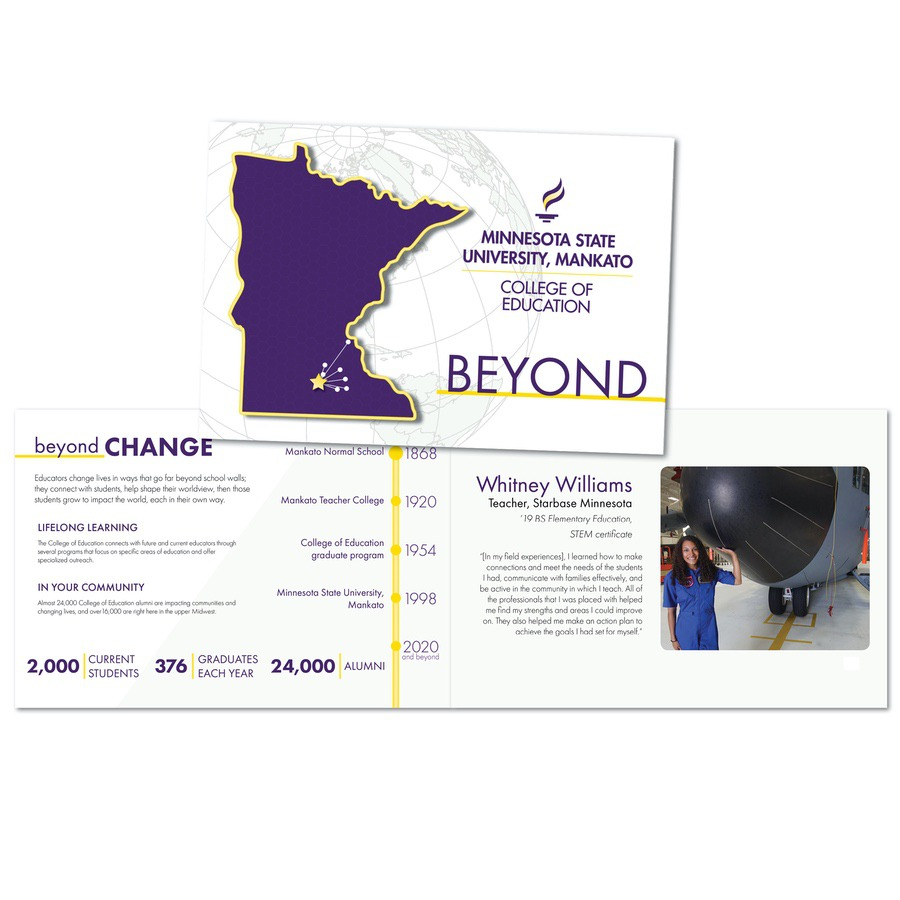 brochure for College of Education