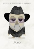 Great-authors-presented-as-owls-Terry-Pratchett