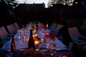 Bluetales dinner
