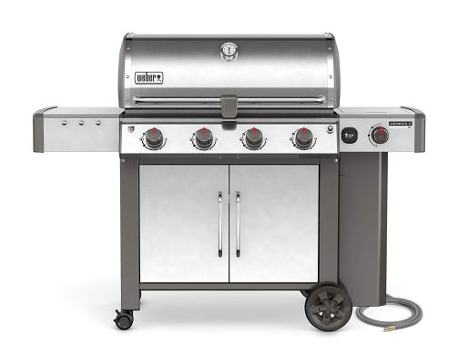 Weber 67004001 Genesis II LX S-440 Natural Gas Grill, Stainless Steel